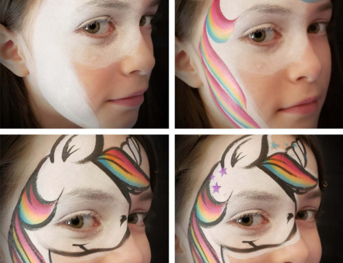 Half Face Unicorn