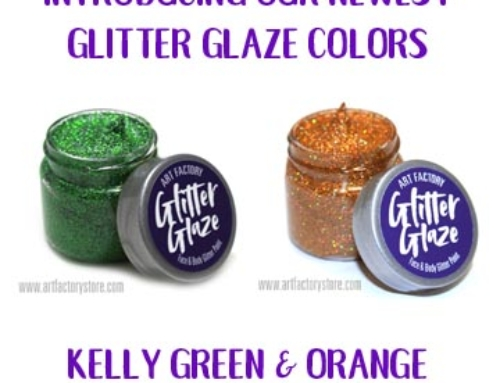 New Glitter Glaze Colors in Stock!