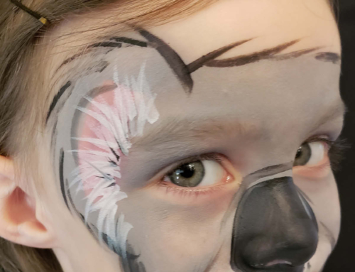 Step-By-Step Full Face Koala Bear